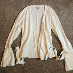 J Crew Bell Sleeve Sweater